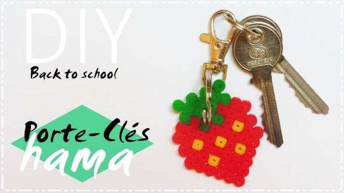DIY Back to School┊Porte – clés hama facile !