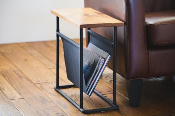 DIY Table d'appoint et porte-revues