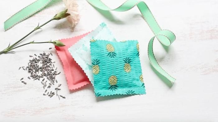 Comment fabriquer des sachets de senteur à la lavande