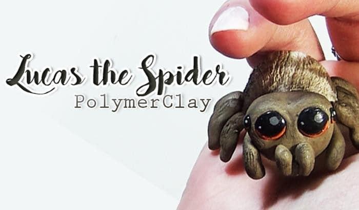 LUCAS THE SPIDER | DIY lucas spider fanart polymerclay TUTO FIMO